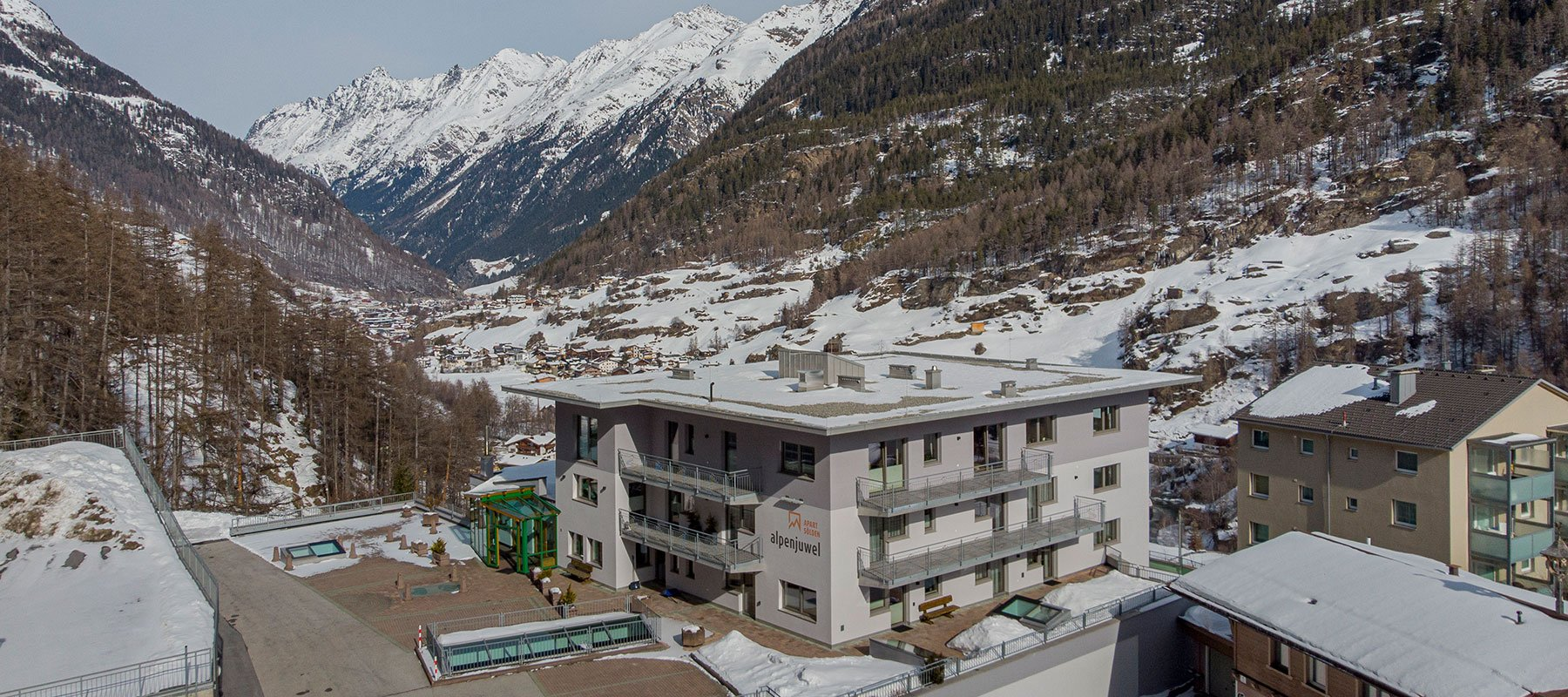 Apart Alpenjuwel Sölden im Winter