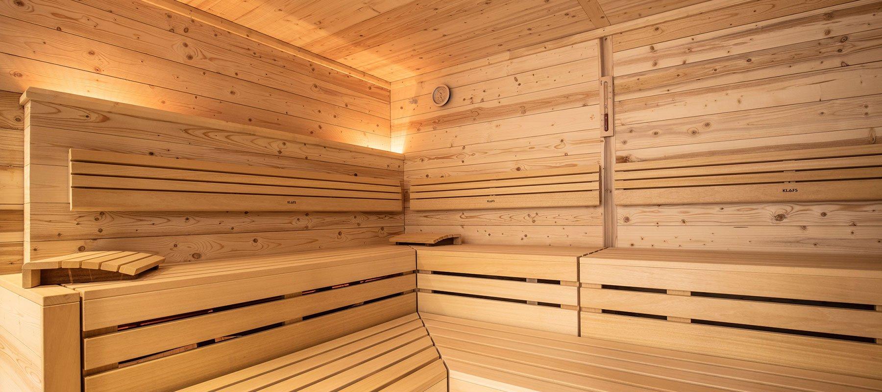 Saunabereich im Alpenjuwel